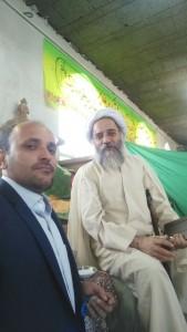 عکس سلفی آقای اسلامی روز جشن غدیر، فاطمیه بیده